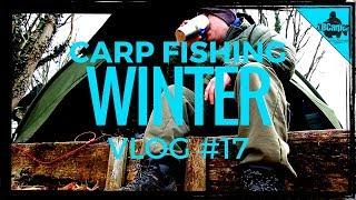 CARP FISHING IN WINTER -  THE PARK LAKE - VLOG #17 😀