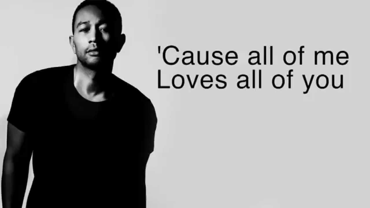 All Of Me - John Legend (LYRICS + HQ AUDIO) - YouTube