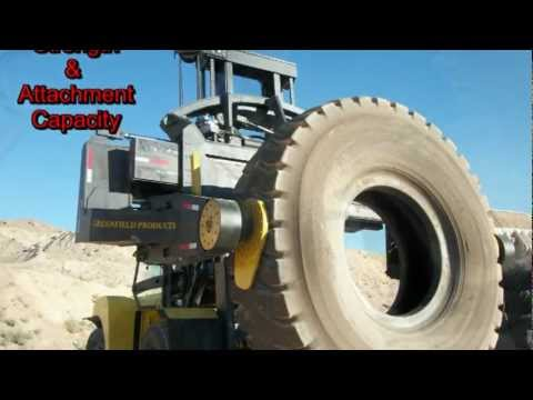 H550HD TH35 Tire Handler 35,000 lbs