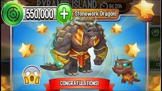 Dragon City - Stonework Dragon [Pyramid Island | Completed 2018]