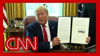 Trump announces new sanctions against Iran