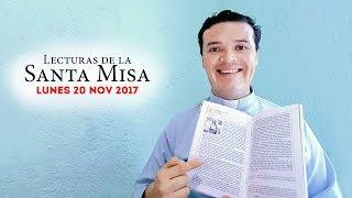Evangelio de hoy lunes 20 de noviembre de 2017