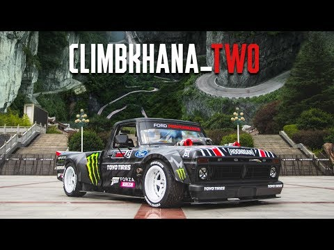 Ken Blocks Climbkhana TWO: 914hp Hoonitruck on Chinas Most Dangerous Road; Tianmen Mountain