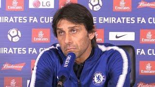 Antonio Conte Full Pre-Match Press Conference - Leicester v Chelsea - FA Cup