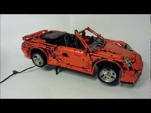 Porsche 911 (997) Turbo Cabriolet en LEGO