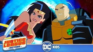 Justice League Action | Nanobots And Blackholes | DC Kids