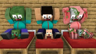 Monster School With Poor Baby Herobrine Sad Life - minecraft animation