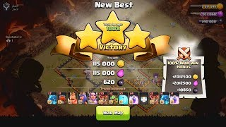 MY FIRST (& 2nd) CLAN WAR LEAGUES ATTACKS!  TH12 Clash of Clans