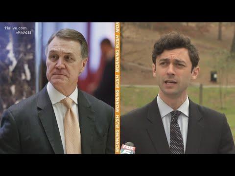 Jon Ossoff takes on Sen. David Perdue for November election