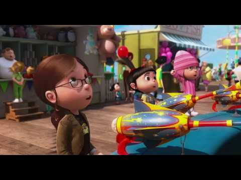 Despicable Me 2010 super silly fun land funny scene