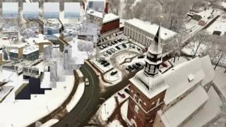 Ziemas elpa Valmierā.