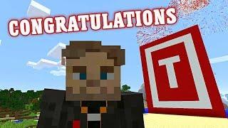 PewDiePie Congratulations Minecraft Parody feat. ReptileLegit