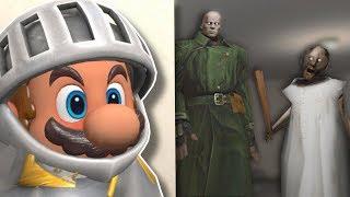 HIDING FROM GRANNY & Mr X! - Garry's Mod Gameplay -  Gmod Slasher Gamemode