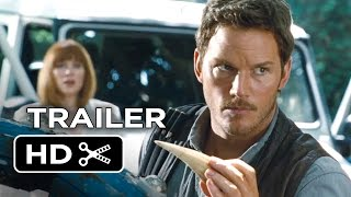 Jurassic World Official Trailer #1 (2015) - Chris Pratt, Jake Johnson Movie HD