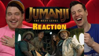 Jumanji The Next Level - Trailer Reaction / Review / Rating