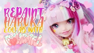☽ Moonlight Jewel ☾ Repaint Haruka Decora - Special Collab Doll