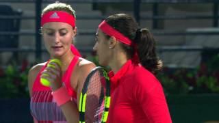 Highlights: WTA SF - Garcia/Mladenovic vs. Babos/Goerges