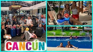 TRAVELING TO CANCUN , MEXICO   SISTERFOREVERVLOGS #555