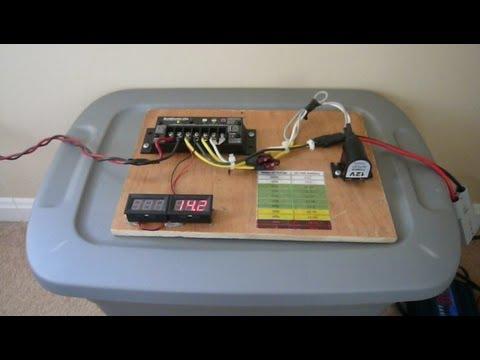 My Simple Home Solar Setup 120w Panel Morningstar