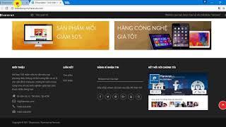 Hướng Dẫn Tạo Menu Liên Kết Website Tại Haravan