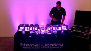 ETERNAL LIGHTING CUBEECHO MK3 SYSTEM20 - WHITE in action