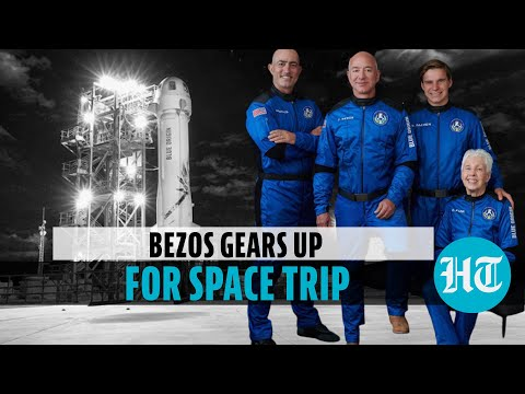 How Jeff Bezos is preparing for first space trip on Blue Origin's New Shepard