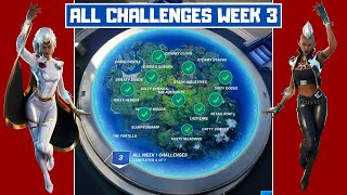 All Week 3 Challenges Guide! - Fortnite Chapter 2 Season 4