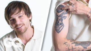Louis Tomlinson Breaks Down His Tattoos   GQ