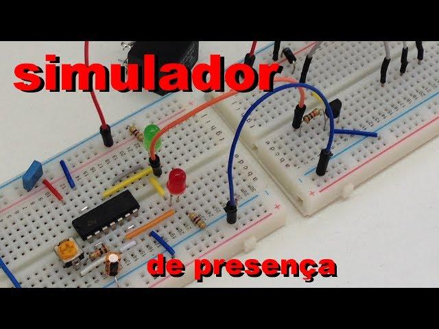 SIMULADOR DE PRESENÇA SIMPLES Conheça Eletrônica! 028
