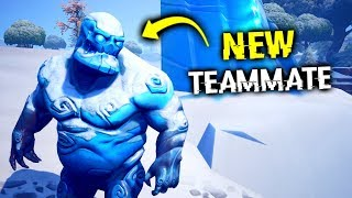 I Glitched A 5th Team Member.. (Fortnite)