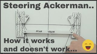 Steering Ackerman, how it works, and doesn't work...