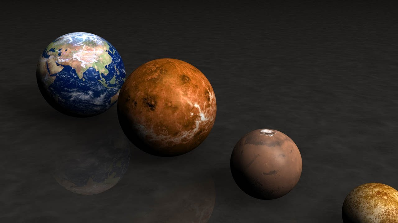 Earth Compared to Biggest Planet (page 2) - Pics about space