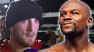 Logan Paul Reacts To Floyd Mayweather Fight Cancelation Rumors