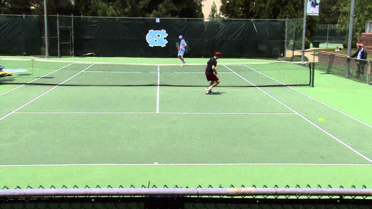 Men's Tennis: UNC 7 - 0 Boston College - YouTube