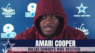 Amari Cooper: It's Like A Fraternity   Dallas Cowboys 2020