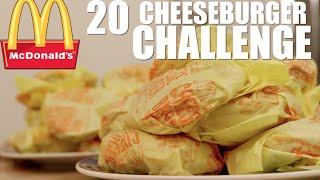 MCDONALDS 20 CHEESEBURGER CHALLENGE (6100 CALORIES)