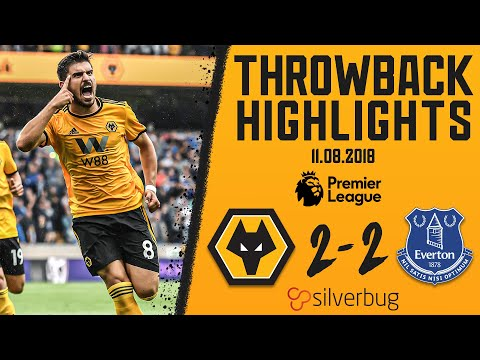 Neves and Jimenez strike on Premier League debuts | Wolves 2-2 Everton | Throwback Highlights