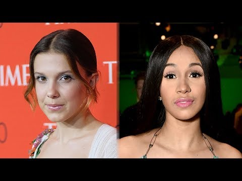 Millie Bobby Brown FREAKED OUT When Cardi B Skipped Time 100 Gala