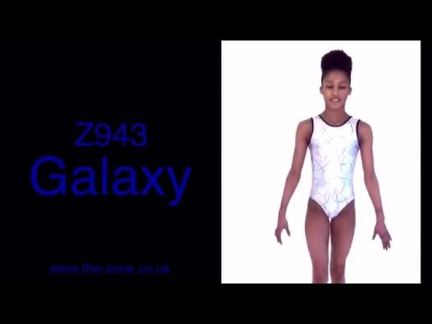 Galaxy Sleeveless Gymnastic Leotard