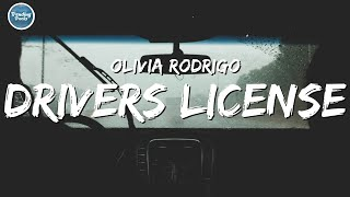 Olivia Rodrigo - drivers license (Clean - Lyrics)