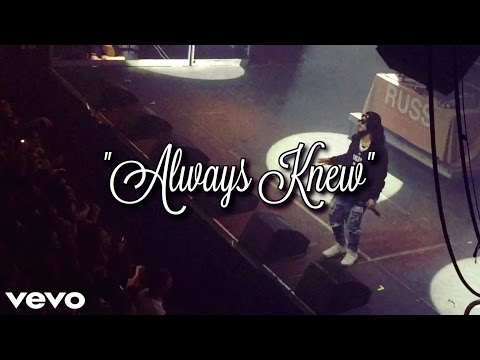 Russ - Always Knew (Live) Girl Gets Knocked Out!