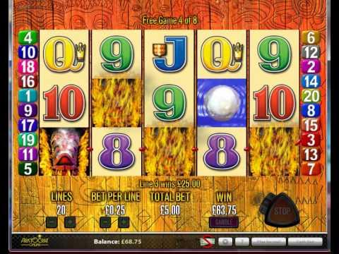 Aristocrat Tiki Torch Online Pokies Slots Play Free