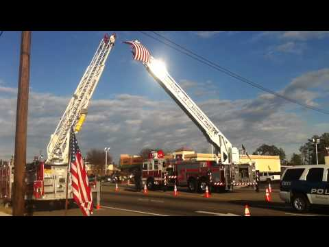 Procession for Deputy Rhyne