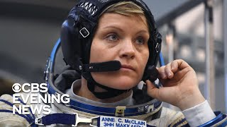 Astronaut Anne McClain heading home
