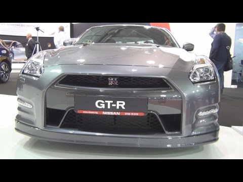 Nissan GT-R 3.8 V6 550 hp 6AT 4x4 Premium (2016) Exterior and Interior in 3D