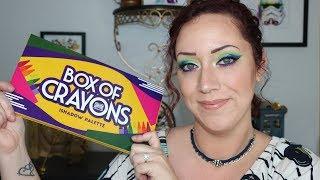 Box of Crayons Eyeshadow Palette!