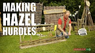 Making Hazel Hurdles