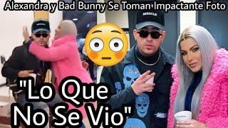 ¡SE ARM0OO! Alexandra con Bad Bunny en Nueva York se toman Foto para killar a Mozart!! ¿Son parejas?