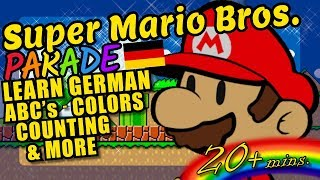Super Mario Bros. Kids Video - German ABC's, Colors, Counting and More!