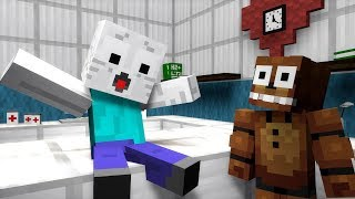 FNAF Monster School: Ghast Operation  - Minecraft Animation
